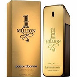Paco Rabanne 1 Million 3.4oz 100ml Masculino Eau De Toilett