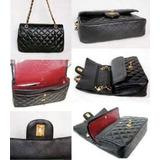 Bolsa Chanel Couro  De L Luxo Importada 2,55